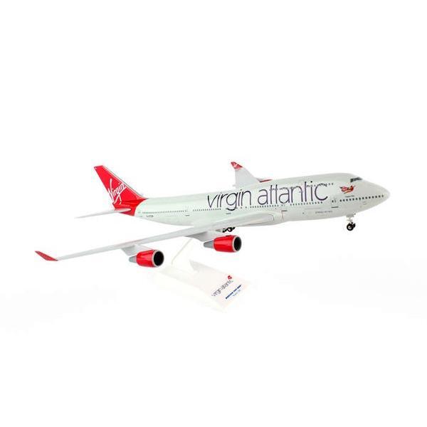 SKYMARKS 1/200 ヴァージンアトランティック航空 B747-400 ランディングギア&スタンド付き (SKR672)