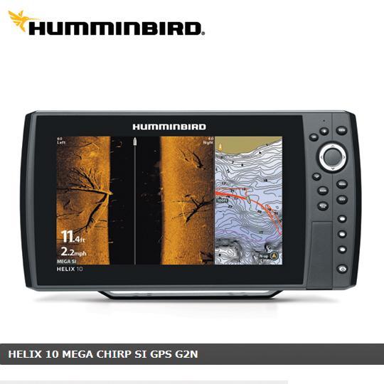 【取り寄せ商品】 ハミンバード ヘリックス10 CHIRP MEGA SI GPS G2N HUMMINBIRD HELIX GPS内臓