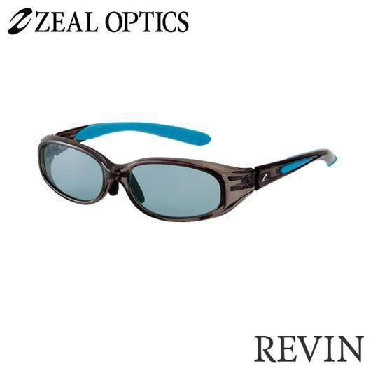 zeal optics(ジールオプティクス) 偏光グラス レヴィン F-1221 #マスターブルー ZEAL optics REVIN