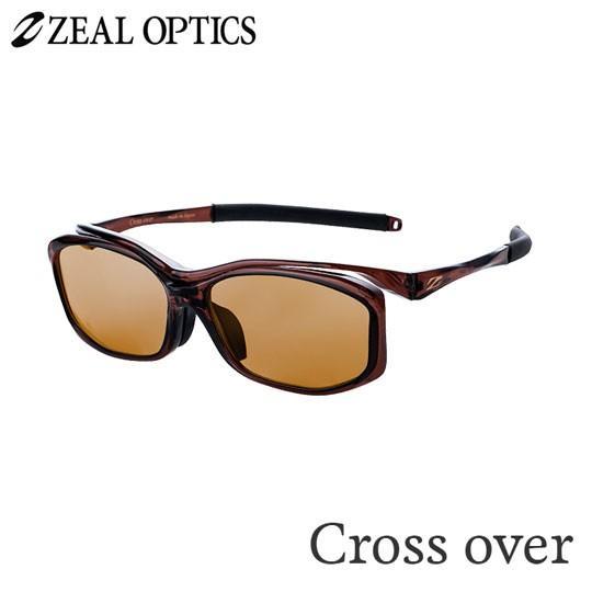 zeal optics(ジールオプティクス) 偏光グラス クロスオーバー F-1626 #ラスターオレンジ ZEAL CROSS OVER