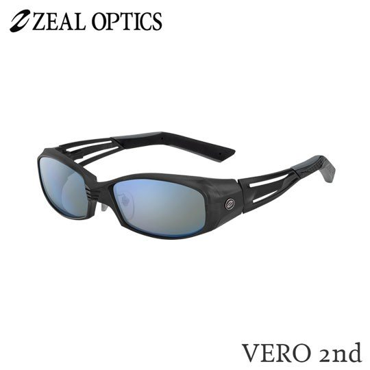 zeal optics(ジールオプティクス)  偏光グラス ヴェロセカンド F-1324 #トゥルビュースポーツ ブルーミラー ZEAL VERO 2nd