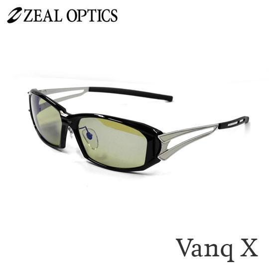 zeal optics(ジールオプティクス) 偏光グラス ヴァンク エックス F-1767 #イーズグリーンブルーミラー ZEAL Vanq X