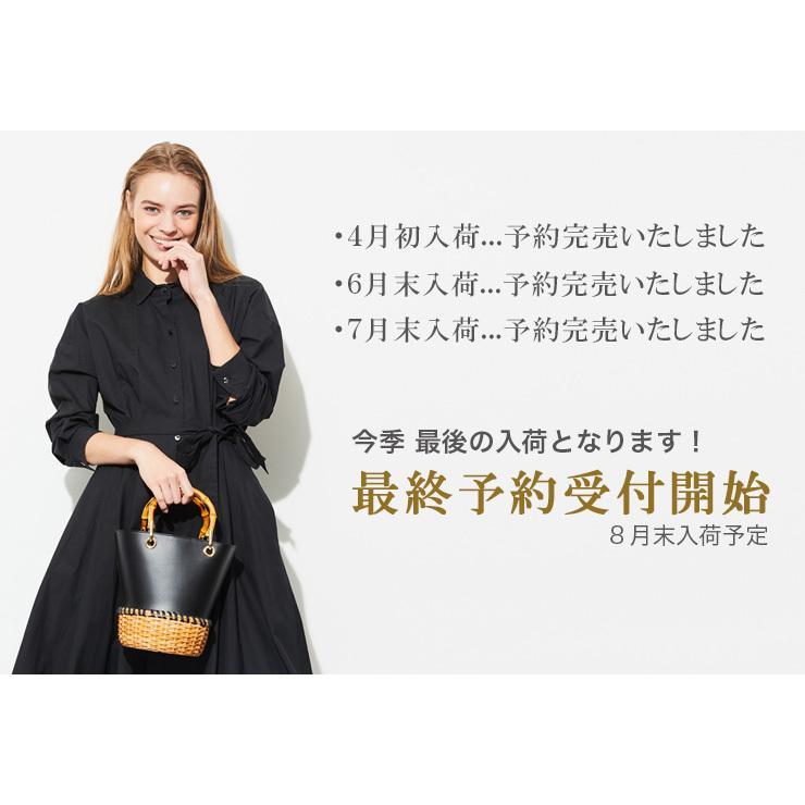 2022年春夏 先行予約 / ヴィオラドーロ バッグ かごバッグ VIOLAd'ORO  MIRO ミロバン ブーハンドル ラタン 本革 レディース 春夏 店舗 公式 v-8239 bag-danjo 02