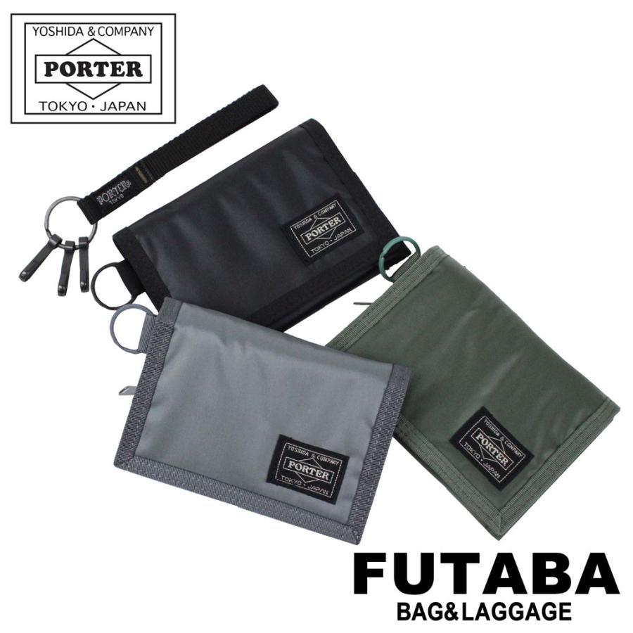 Yoshida PORTER CAPSULE Tri-fold wallet Black 555-06439 JAPAN