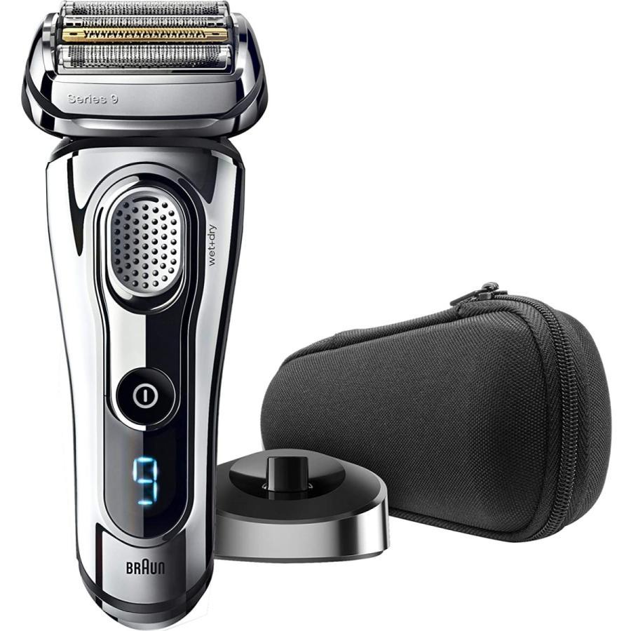ブラウン メンズ電気シェーバー シリーズ9 9293s 5カットシステム 密着3Dヘッド 人工知能 自動調整 水洗い お風呂剃り可 シルバー|bakuyasuearth