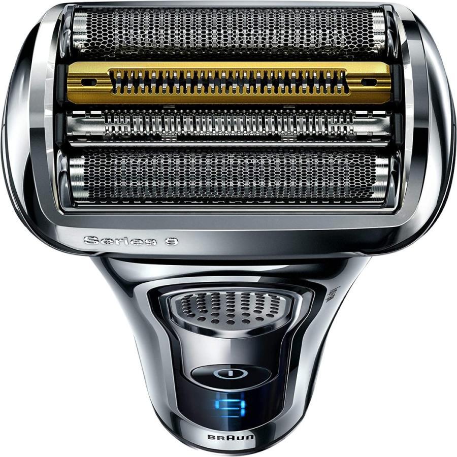 ブラウン メンズ電気シェーバー シリーズ9 9293s 5カットシステム 密着3Dヘッド 人工知能 自動調整 水洗い お風呂剃り可 シルバー|bakuyasuearth|06