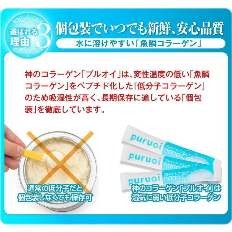 【送料無料】プルオイ(puruoi)ナノコラーゲン 30日分+お試し10包入りセット コラーゲン 低分子コラーゲン コラーゲンサプリ フィッシュコラーゲン|balian|10