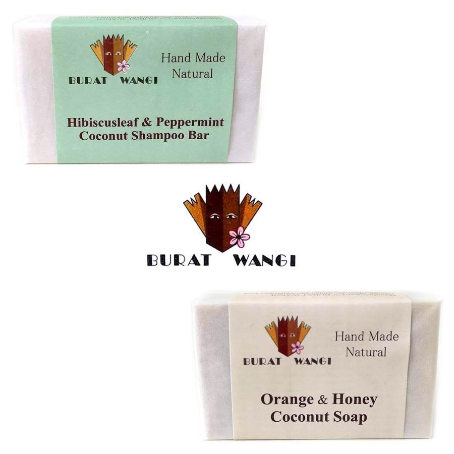 ブラットワンギ Burat Wangi ココナッツ ソープ 80g 選べるお得な2個セット バリ島から 無添加石鹸 海外直送品|balifesta