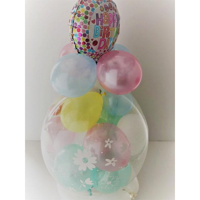 ワンワン&うーたん バルーンラッピング バルーン 誕生日 1歳 2歳 いないいないばあっ グッズ 出産祝い ぬいぐるみ プレゼント 出産祝い 七五三 クリスマス ballballoon 17