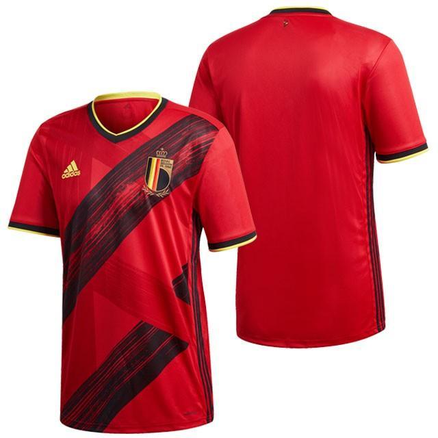 アディダス ベルギー代表 2020 ホーム ユニフォーム サッカー レプリカユニフォーム 半袖 カレッジレッド (adidas2020SS) GHW83-EJ8546