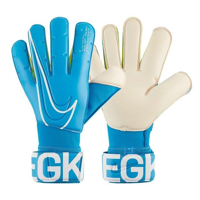 ナイキ ヴェイパーグリップ 3 ACC サッカー ゴールキーパー キーパーグローブ ブルー ホワイト (NIKE2019FW) GS3884-486