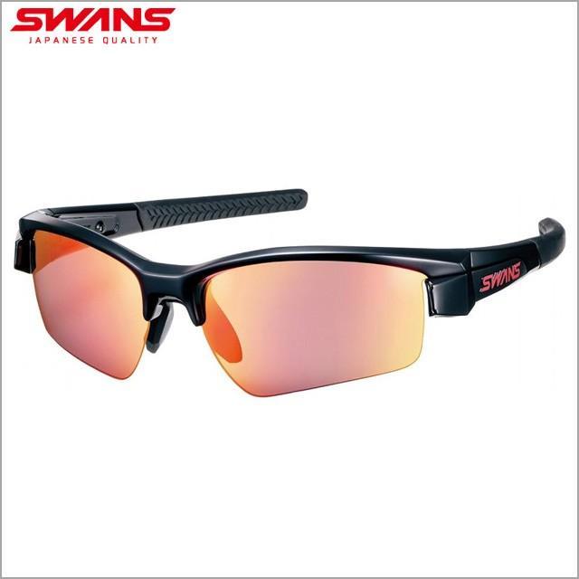 SWANS/スワンズ LION SIN ミラーレンズモデル サングラス LISIN-1701-BK LI-SIN-1701-BK