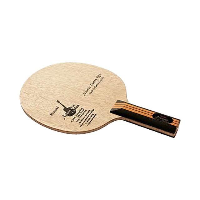 (ニッタク/日卓) 卓球 ラケット アコースティックカーボンST NC0384