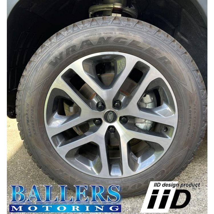 レンジローバー IID製 アドバンスナット BLACK M14×1.5P 鍛造 ホイールナット ブラック 日本製 純正ホイール用 平座 ランドローバー|ballers-sp02|03