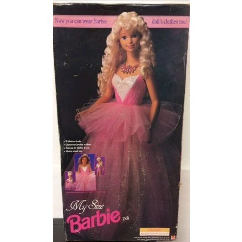 送料込 大きな マイサイズ バレリーナ バービー人形 My Size Barbie バービー人形 バレエ雑貨 バレリーナ雑貨 バレリーナ人形 バレエ発表会プレゼント