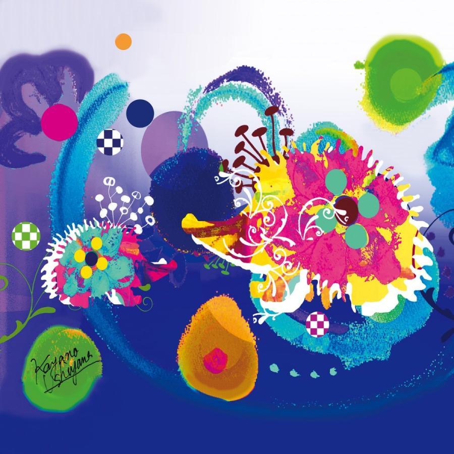 KAYANO USHIYAMA Ballettコラボ第2弾 Happy Hedgehog 大判シフォンスカーフ 正方形 90×90cm ご家庭で洗濯可 日本製|ballett|03