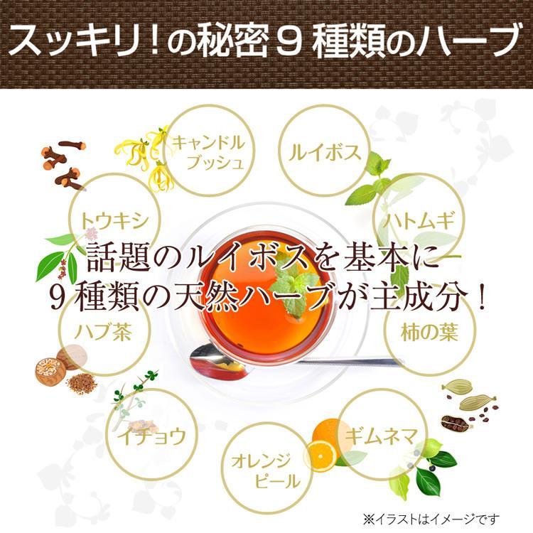 バンビルイボスティー ダイエット 茶 ダイエットティー バンビウォーター 酵素 ダイエットドリンク サラシア 乳酸菌 健康 お腹 ハーブ ルイボスティー 無添加 bambi-water 12