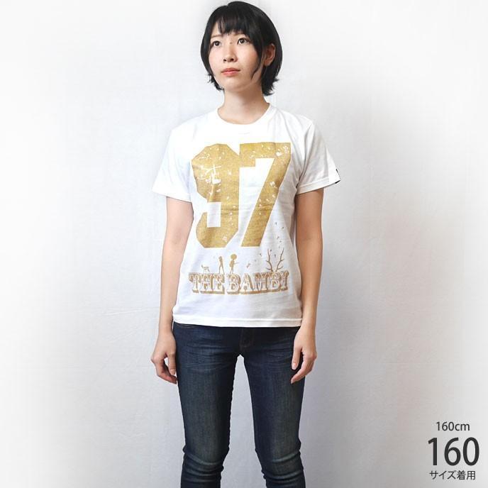 bambi97 Tシャツ (ホワイト) -G- 白色 半袖 ロゴTee ロックTシャツ グラフィック 春夏秋服コーデ 綿100%|bambi|02
