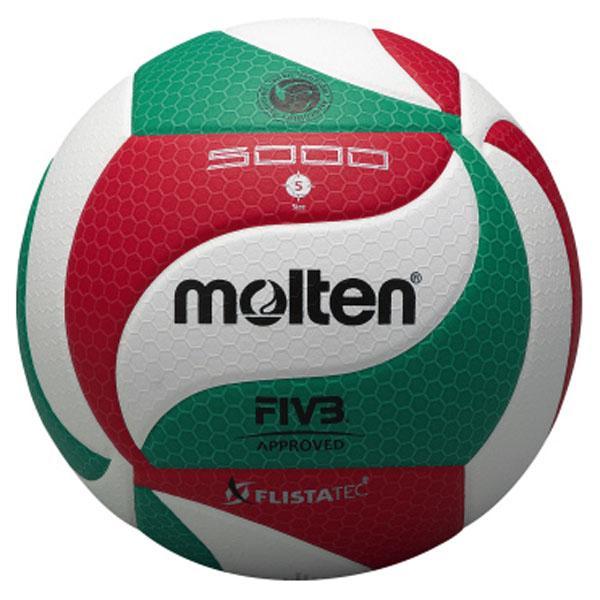 ネーム加工可・名入れ可 モルテン(Molten) フリスタテックバレーボール5号 (mt-v5m5000-) 【MT-V5M5000-】