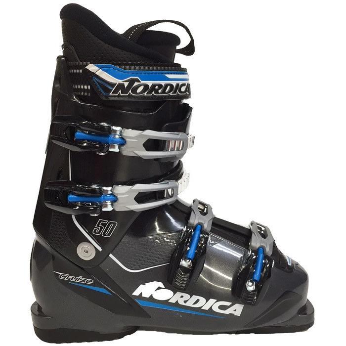 在庫限り 17-18 ノルディカ (05054800-481) スキーブーツ CLUISE50 アンスラサイト/ブルー