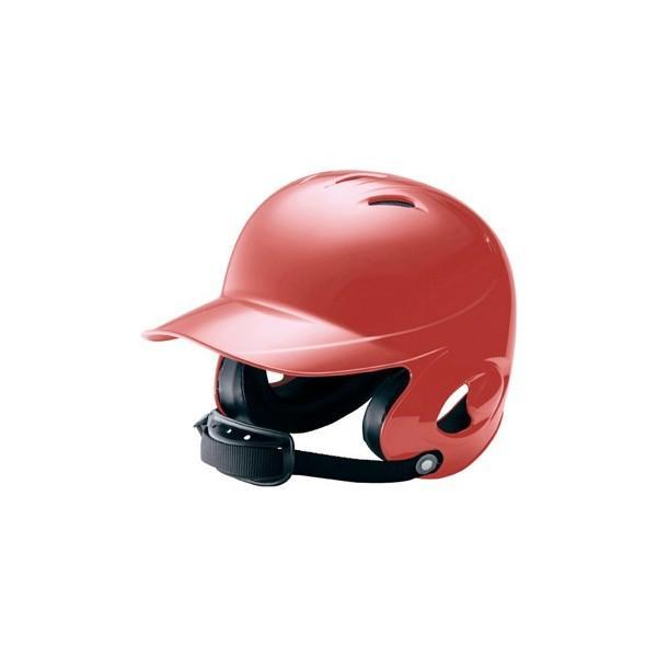 ミズノ (2HA788-62) 少年硬式野球両耳打者用ヘルメット レッド