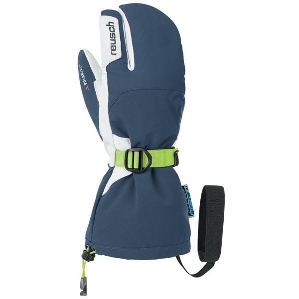 在庫限り 18-19 ロイシュ (4702704-479) スキー手袋 LECH R-TEX XT LOBSTER ドレスブルー