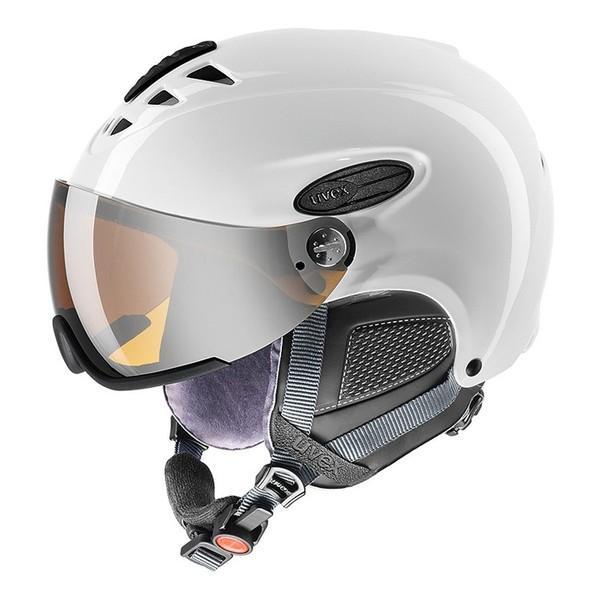 在庫限り 17-18 ウベックス (5661621107) スキーヘルメット UVEX HLMT300 60~61cm ホワイト