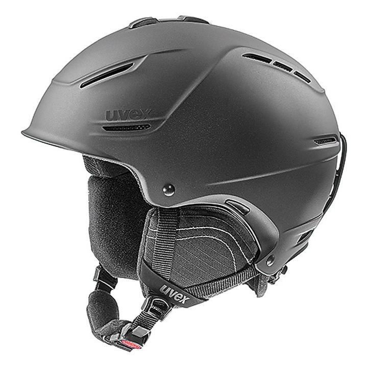 人気 19-20 ウベックス (5662112005) スキーヘルメット UVEX P1US 2.0 55~59cm ブラックメタリックマット