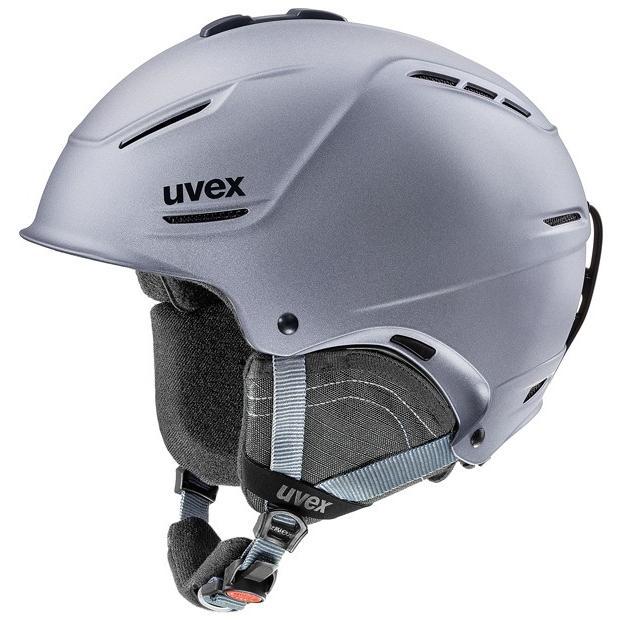 人気 19-20 ウベックス (5662115007) スキーヘルメット UVEX P1US 2.0 59~62cm ストラトメタリックマット