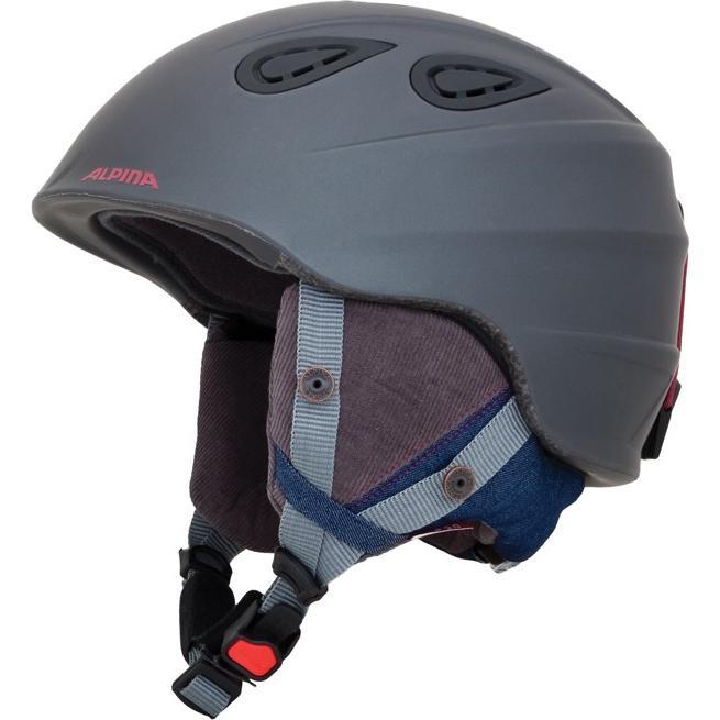 19-20 アルピナ (A9094383) スキーヘルメット GRAP2.0 LE 57~61cm デニム/グレイマット