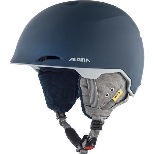 19-20 アルピナ (A9206282) スキーヘルメット MAROI 53~57cm インク/グレイマット