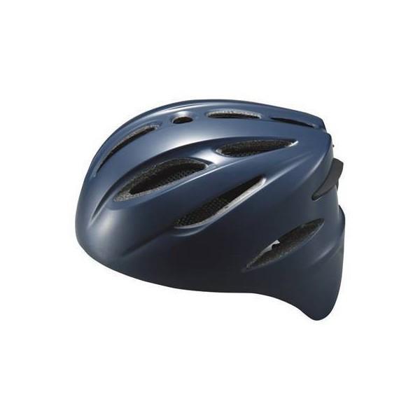 ゼット (BHL40R-2900) 軟式野球捕手用ヘルメット ネイビー
