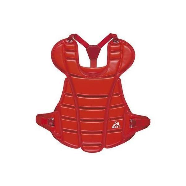 ゼット (BLP5230-6400) ソフトボール捕手用プロテクター レッド