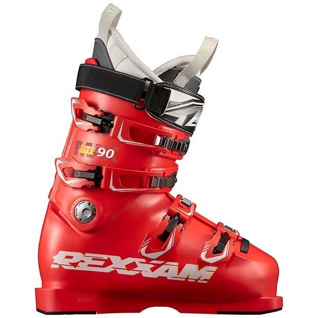 【一部予約販売】 在庫限り 18-19 レグザム (MAX90-CXSS-RED) スキーブーツ POWERMAX90 CX-SSインナー レッド, オバラムラ 78f3229c