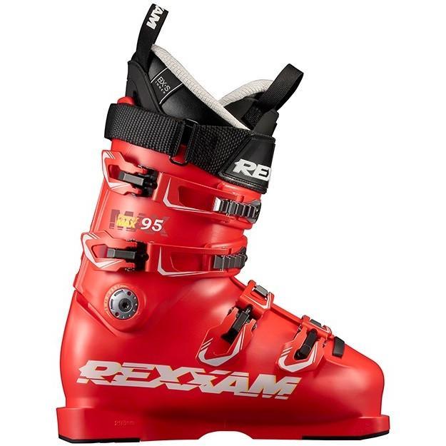 在庫限り 18-19 レグザム (MAX95-BXS18-赤) スキーブーツ POWERMAX95 BX-Sインナー レッド