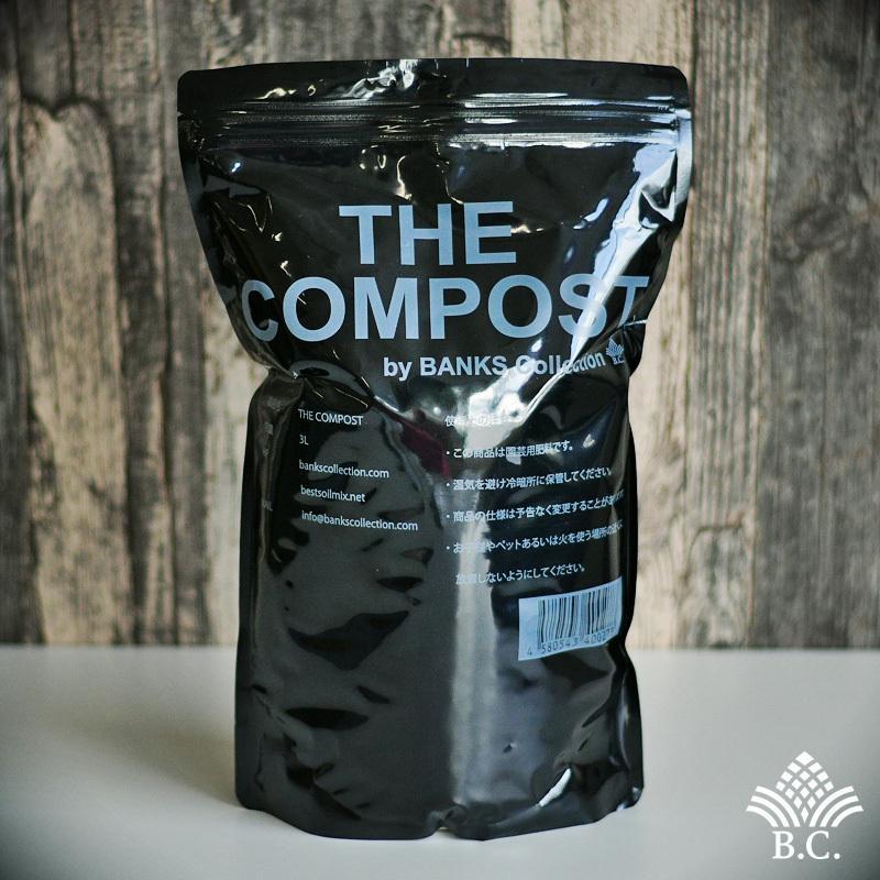 ノベルティグローブ付き 肥料、活力剤 コンボセット THE COMPOST ザ コンポスト 3L、BLACKWATER ブラックウォーター 200cc|bankscollection|02