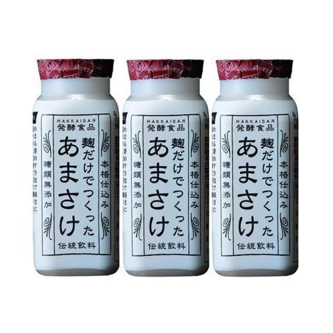 甘酒 八海山あまさけ ノンアルコール 麹だけでつくったあまさけ 118g 3本セット C|bannai
