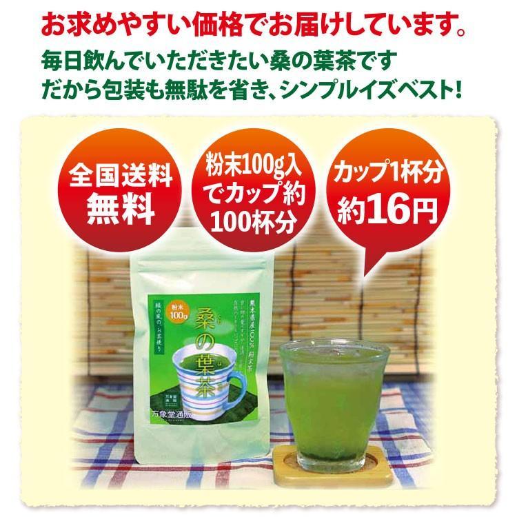 桑の葉茶 粉末 100g 青汁  国産 送料無料 効能 桑茶 パウダー|bansyodo1|16