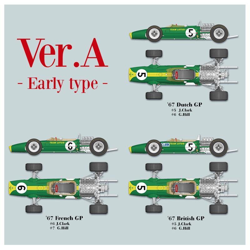 ロータス Type49 Ver.A:Early Type【MFH 1/12 K689】