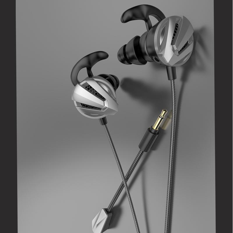 イヤホンマイク 有線 zoom ヘッドセット ゲーミングイヤホン マイク付き PS4ボイスチャット barefeet 14