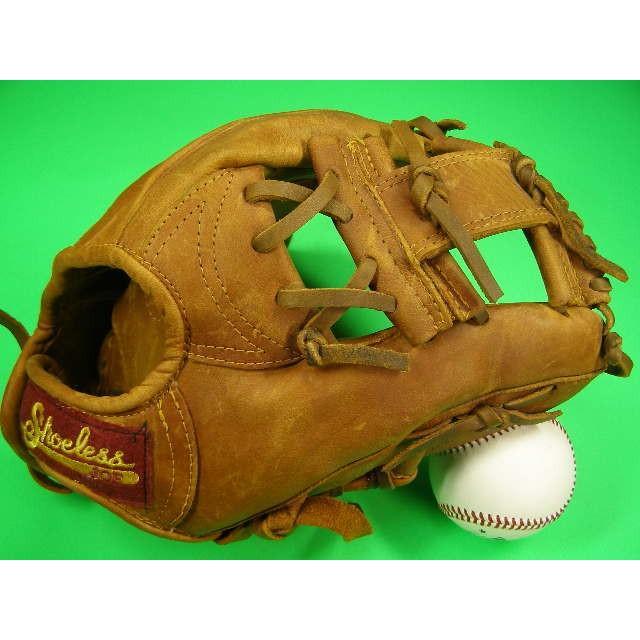 柔らかな質感の SHOERESS JOE Gloves Shoeless USA Joe MADE MADE IN USA 内野用 Baseball Gloves アンティークレザー, Oリング総研:c5691c5b --- airmodconsu.dominiotemporario.com