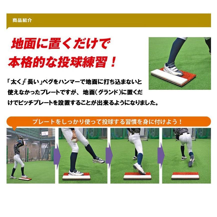 ピッチャープレート FPP-1046 簡易式本格プレート フィールドフォース|baseballpower|10