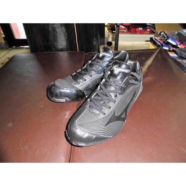 ミズノ 樹脂底金具スパイク クロスアシストCQ 野手用縫いP 右投げ用 逆足コバ付き サイズ26.5cmのみ