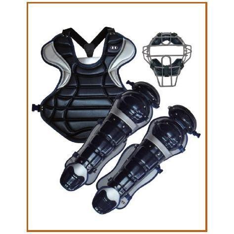 ハイゴールド 硬式用防具3点セットハイクオリティーモデル HPL-16H