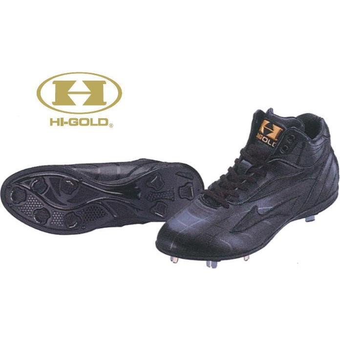 ハイゴールド Hi-ゴールド スパイク 樹脂底 金具埋め込み ハードカット PKD-700 ベースボールTS