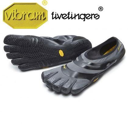 vibram fivefingers ビブラムファイブフィンガーズ Men's EL-X〔Grey/Black〕(メンズ) ジムトレーニング /