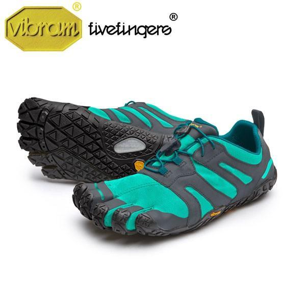 vibram fivefingers ビブラムファイブフィンガーズ Women's V-Trail 2.0〔Blue/Green〕(レディースブイトレイル)/