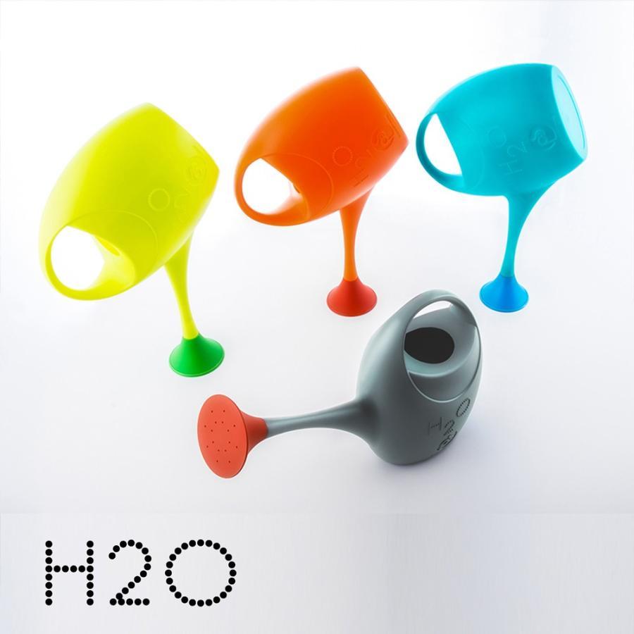 ジョウロ ジョーロ 水やり 観葉植物 手入れ 2.5 リットル L プラスティック 軽量 耐久性 100% イタリア製 H2O エイチツーオー おしゃれ かわいい POS DESIGN|basket2011|02