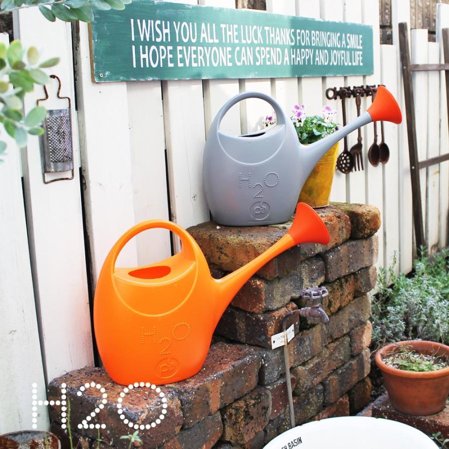 ジョウロ ジョーロ 水やり 観葉植物 手入れ 2.5 リットル L プラスティック 軽量 耐久性 100% イタリア製 H2O エイチツーオー おしゃれ かわいい POS DESIGN|basket2011|04