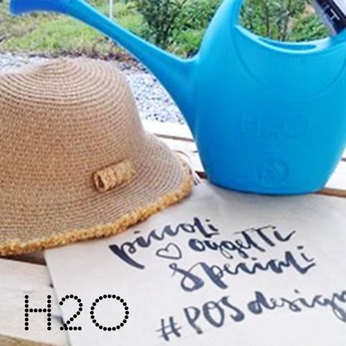 ジョウロ ジョーロ 水やり 観葉植物 手入れ 2.5 リットル L プラスティック 軽量 耐久性 100% イタリア製 H2O エイチツーオー おしゃれ かわいい POS DESIGN|basket2011|05